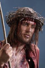 Mayet as Jesus in 2010.