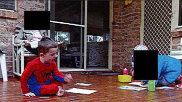 Never-before-seen photos of William Tyrrell taken on the morning he went missing have been released.