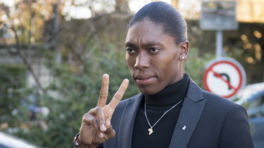 Caster Semenya has appealed the CAS decision.
