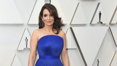 Tina Fey at this year's Oscars.