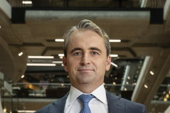 CBA chief executive Matt Comyn says the bank wants is digital offering to be among the best in the world.
