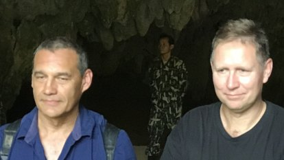 'If we're not out in four hours bring beer': rescuers return to cave