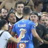 Match in France abandoned after ugly clashes between fans and players