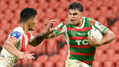 Souths thrash Dragons to win eighth game on the trot