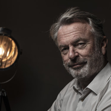 Actor Sam Neill is reprising his role as Alan Grant in the latest installment of the Jurassic World franchise.