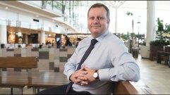 Brisbane Airport chief executive Gert-Jan de Graaff.