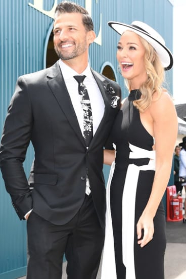 The Bachelor Tim Robards and Anna Heinrich last year.