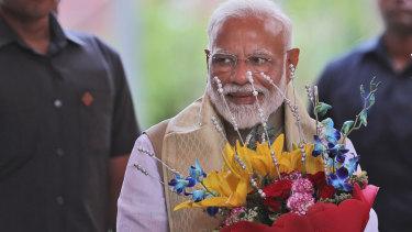 Indian Prime Minister Narendra Modi this week.