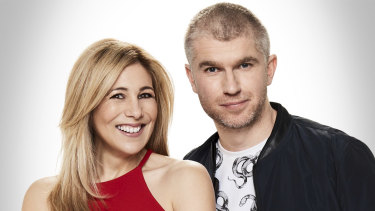 Paul and Lise's breakfast show was billed as 'More Fun, More Perth'.