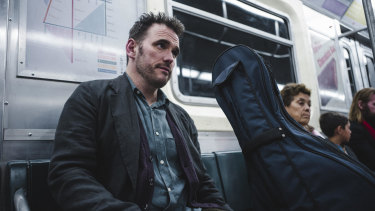 Matt Dillon as a cellist in the short film Nimic, which is screening at the Sydney Underground Film Festival.