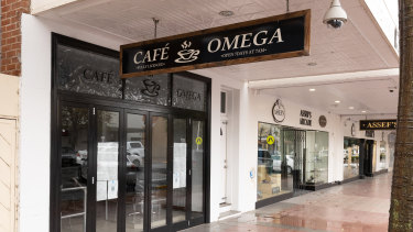 Cafe Omega in Moree was just one of the sites visited by the couple on their journey from Melbourne to Queensland.