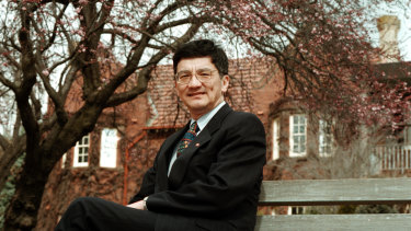 Tsebin Tchen at Canberra Grammar School, where he spent two years of his schooling life.