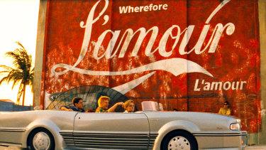 The L'amour sign in Baz Lurhmann's 1996 film Romeo + Juliet.