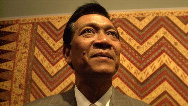 Hamengku Buwono X, Sultan of Jogjakarta, Java, in Australia last year.