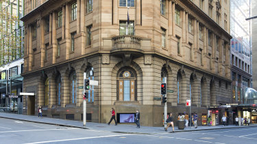 The Trust Building on the corner of King and Castlereagh Streets, Sydney.