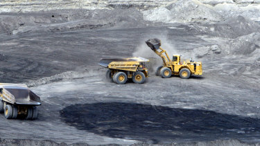 Coal miner New Hope Corporation has slumped to a $157 million full-year loss.