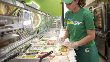 A review of 22 Subway stores found 18 had not been complying with workplace law, the Fair Work Ombudsman claims.