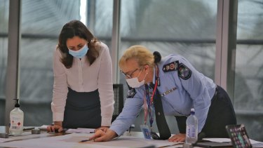The Queensland disaster management committee is monitoring the situation.
