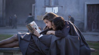 A still from the TV series based on Elena Ferrante's My Brilliant Friend. She says her approach to having her work filmed by a female director would be different from a male.