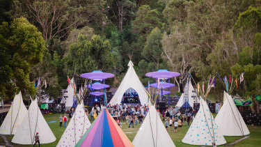 Music festivals such as Splendour are great opportunity for health authorities to reach their target audience.