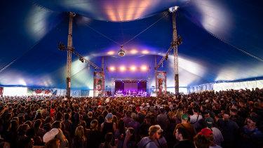 Falls Festival in Lorne in 2019.