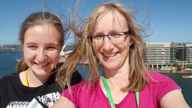 Brisbane'sJulie Richards, 47, and Jessica Richards, 20, pictured in 2015.