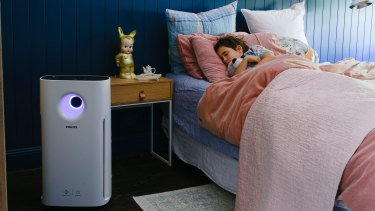 Philips' air purifiers can clean up large rooms full of pollen or other irritants.