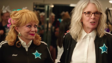 Jacki Weaver wanted the role Diane Keaton landed in Poms.