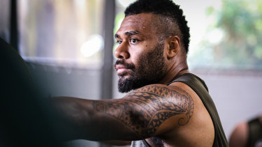 Samu Kerevi has been in sublime form for the Wallabies since his return to the Test arena.