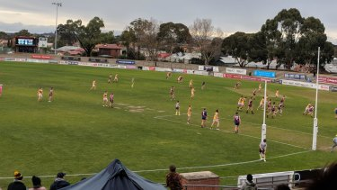 The extended goal 'square' can be seen at Coburg.