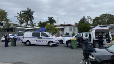 A man has been charged over the death of his neighbour on the Gold Coast on Wednesday.
