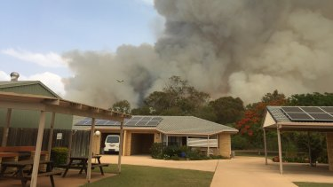 "A ""prepare to leave"" warning was in place for Woodgate, near Bundaberg, on Thursday afternoon."