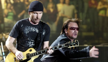 U2 live: The top one per cent earned 60 per cent of all concert revenue.