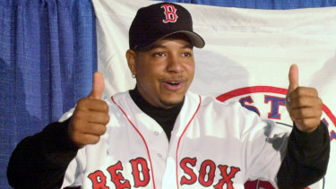 Manny Ramirez was a key part of the Boston Red Sox team that broke an 86-year World Series drought in 2004.