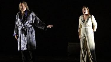 Daniel Sumegi as Bluebeard and Carmen Topciu as Judith.