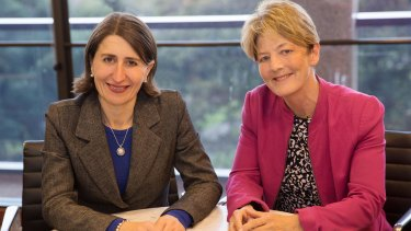 Gladys Berejiklian sacked Catherine Cusack after she voted against the government's bill.
