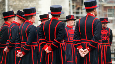 The Tower of London's Beefeaters will join other workers in a strike over pay in January.
