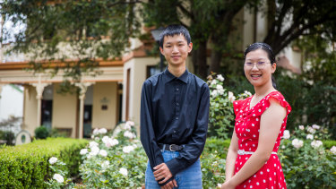 Jason Liu and Junlin Guo, both in year 11 in 2020, topped the state in HSC Agriculture.