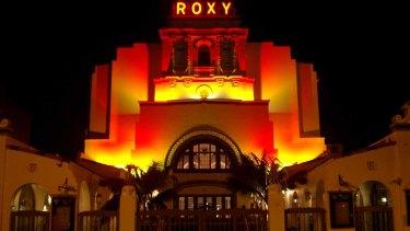The Roxy Theatre at Parramatta before its closure in 2014.