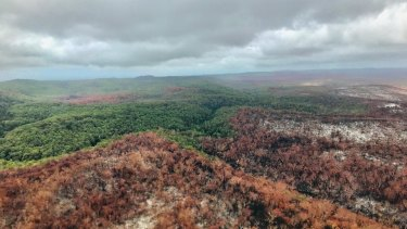 The fire that ravaged Fraser Island has finally been contained.