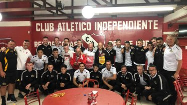 Cooma Tigers took on Argentinian powerhouse Independiente during a pre-season tour of South America - and only lost 1-0.