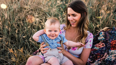 Brisbane mum Suzy Polan chose the name Oliver for her son.