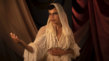 Portrait of Francesca Jaiyeola for Hannah Bronte, EYE HEAR U MAGIK, 2020