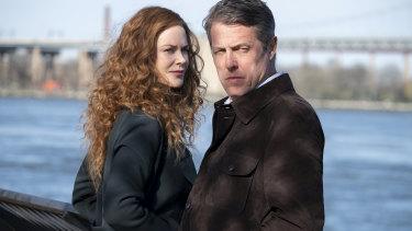 Grace (Nicole Kidman) and Jonathan (Hugh Grant) in The Undoing.