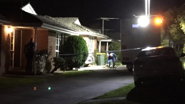 A woman was found dead in a car, and a man died shortly afterwards at a Nunawading property on Saturday night.