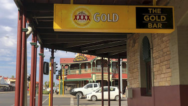 The Gold Bar on Hannan Street, Kalgoorlie.