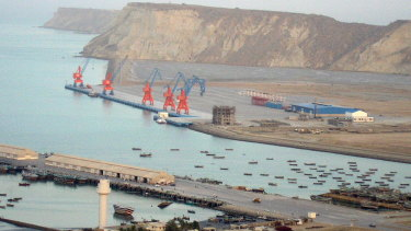China is deeply invested in the Pakistani port of Gwadar.