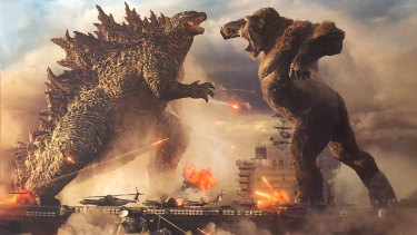 A hit and a clever way to extend a franchise: Godzilla vs Kong.