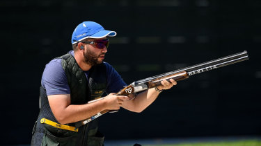 Luke Argiro equalled the world record in qualifying for the skeet category last year at the ISSF World Cup Shotgun in Al Ain, UAE.