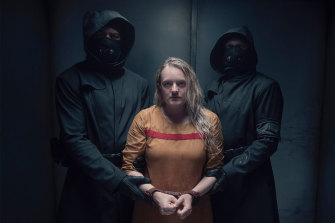 June (Elisabeth Moss) once again falls into the hands of Gilead in season four of The Handmaid's Tale.